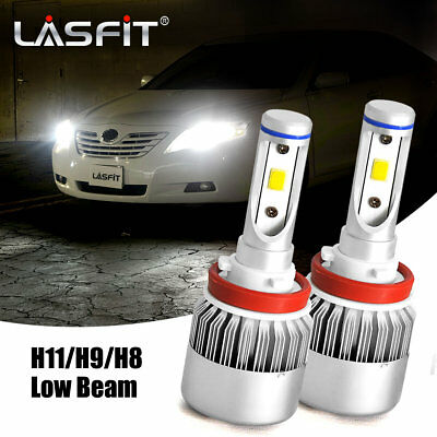 LASFIT H11 LED Headlight for Toyota 4Runner 2006-2017 Camry 2012-2016 Low Beam