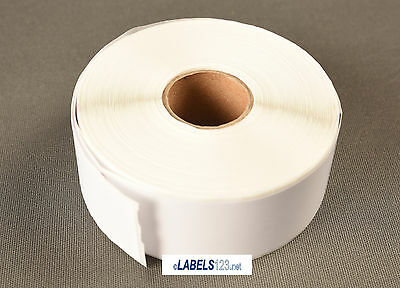 "4 Rolls White Shipping Labels 1"" x 2-1/8"" 30336 Compatible w/ Dymo® LabelWriter"