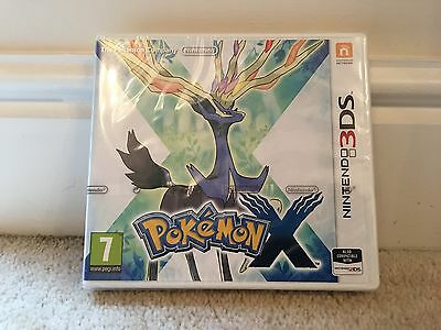 Pokemon X - Nintendo 2DS/3DS Game (Boxed and Brand New)!!!