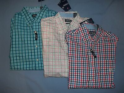 Chaps Men's Big & Tall Long Sleeve Casual Shirts Nwt - 3742