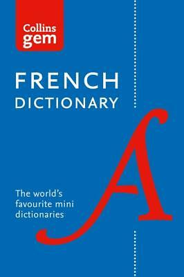 NEW Collins Gem French Dictionary By Collins Dictionaries Paperback