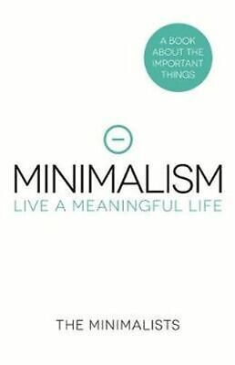 NEW Minimalism By Joshua Fields Millburn Hardcover Free Shipping