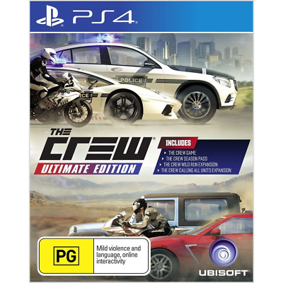 The Crew Ultimate Edition - PlayStation 4 - BRAND NEW