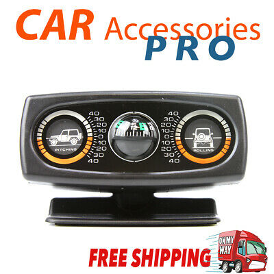 4x4/4WD CLINOMETER INCLINE METER WITH COMPASS patrol/jeep/hilux