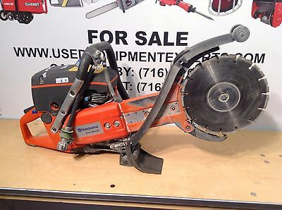 "Husqvarna K760 Cut-n-Break Gas Power Cutter Saw 9"" Diamond Blades Plunge Saws"