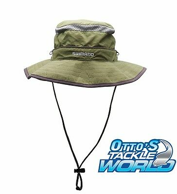 Shimano Bucket Hat Olive BRAND NEW at Otto's Tackle World
