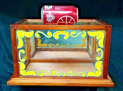Circus Sideshow wooden/glass display case, Gaff,Oddity,Macabre,Freak,PROP,FREAK