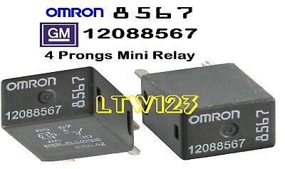 2 NEW OEM GM 12088567 Relay OMRON - $10.99 | PicClick Omron Relay Wiring on
