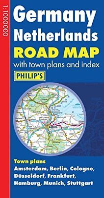 Philip's Germany and Netherlands Road Map (Philip's Road Maps) by Philip's Book