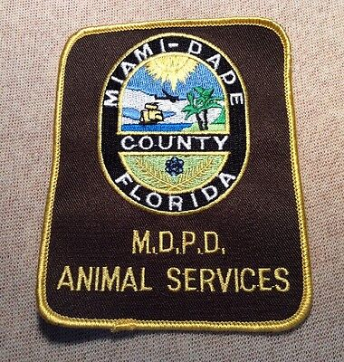 FL Miami-Dade County Florida Animal Services Police Patch