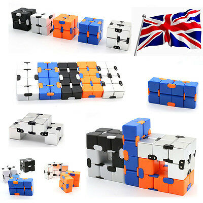 Funny Infinity Cube Cubic EDC Mini For Stress Fidget Relief Anti Anxiety Toys UK