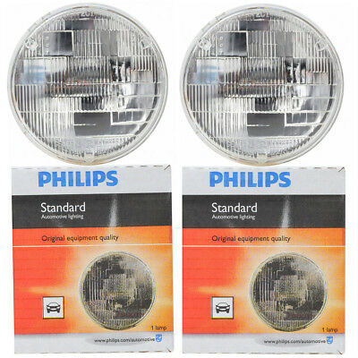 Philips Low Beam Headlight Light Bulb - 1958-1978 Ford 300 Country Sedan ef