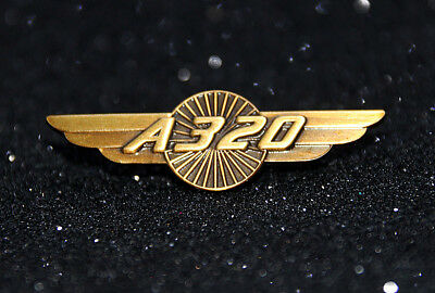 Airbus A320 WINGS Turbine bronze color for Pilot Crew uniform 40mm A 320