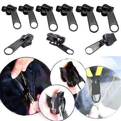 6pcs Fix Zipper Zip Slider Rescue Instant Repair Kit Replacement Universal New