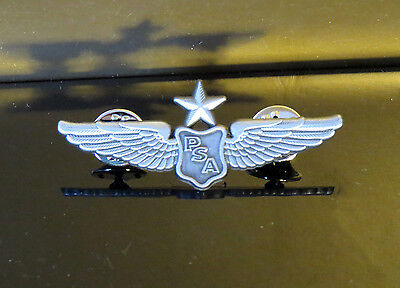 PSA WINGS silver for Pilot Crew as uniform accessory
