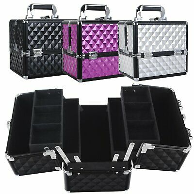 Professional Portable Beauty Makeup Case Cosmetic Nail Box Carry Bag Organiser