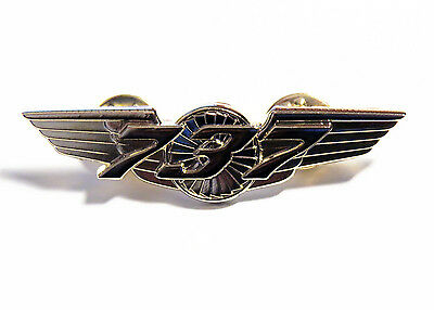 Boeing 737 WINGS gold for Pilot Crew as uniform accessory Pilot Wing metal