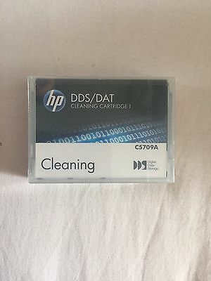 HP DDS/DAT Cleaning Cartridge C5709A - New and Sealed