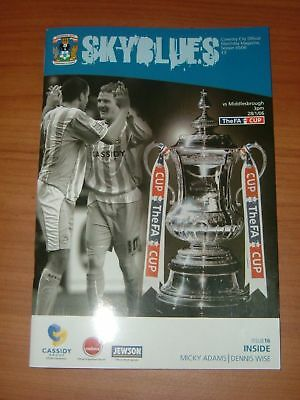 FA Cup Coventry vs Middlesbrough Jan 2006