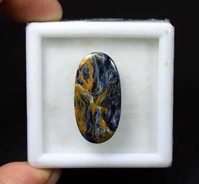 18.55 Cts. 100 % Natural Chatoyant Pietersite Oval Cabochon Loose Gemstones