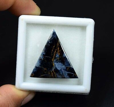 28.05 Cts.100 % Natural Chatoyant Pietersite Triangle Cabochon Loose Gemstones