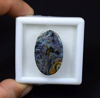 22.40 Cts. 100 % Natural Chatoyant Pietersite Oval Cabochon Loose Gemstones