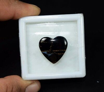 17.60 Cts. 100 % Natural Chatoyant Pietersite Heart Cabochon Loose Gemstones