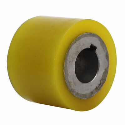 80mm x 30mm x 60mm Polyurethane Pinch Roller Rolling Wheel for Woodworker