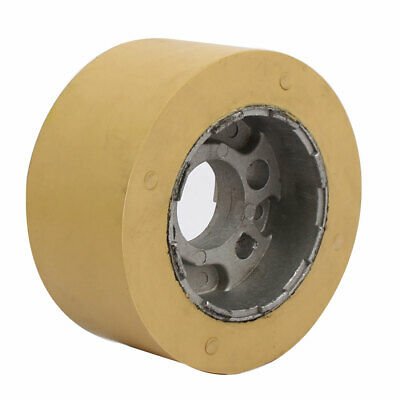 100mm x 28mm x 50mm Silicone Pinch Roller Rolling Wheel Woodworking