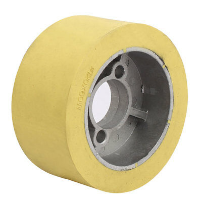 120mm x 35mm x 60mm Silicone Pinch Roller Rolling Wheel Woodworking