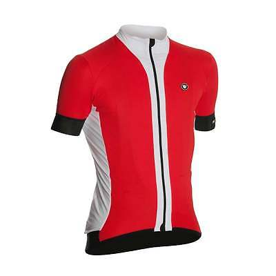 VERMARC PRIMA manche courte cycle cyclisme route course Maillot - Rouge