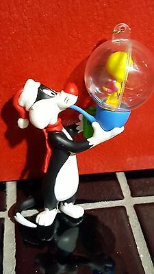 Looney Tunes Sylvester and Tweety Bubbles Ornament
