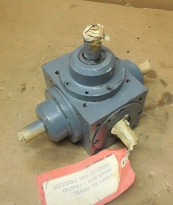 Tandler 01-2A Xh-S515 5-Way Right Angle R/l Bevel Gearbox Speed Reducer 1:1