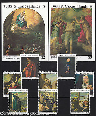 Turks & Caicos Islands - 1992 Granada (Religious Paintings) - U/M