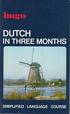 Dutch in Three Months (Simplified Language Course) by Jane Fenoulhet Paperback