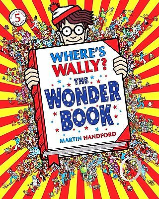 Where's Wally? The Wonder Book (New Very Large P/B Activity Book)