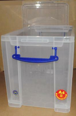 Really Useful Box 19L transp. 395 x 255 x 290mm PP Aufbewahrungsbox Sammelbox