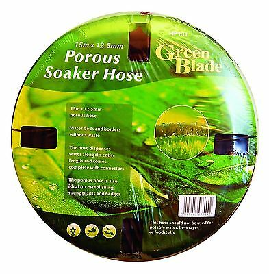 Green Blade BB-HP131 12.5mm x 15m Porous Soaker Hose