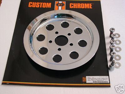 8 hole Chrome Pulley cover 61T for Harley-Davidson 1340 25421