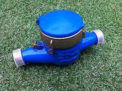 """20mm Domestic Water Meter 3/4"""" Fitting"""