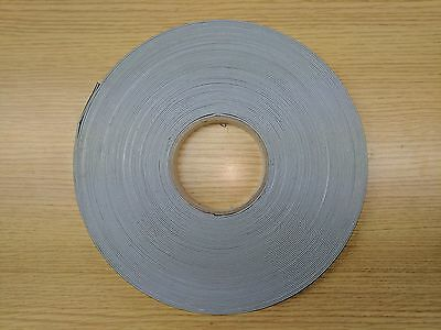 White Steel Tape with Foam Adhesive for Secondary Glazing (5m, 15m or 30m)