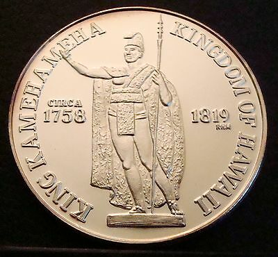 1992 Hawaii Dala Honolulu Silver round 1 ounce troy