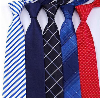 20 style Formal men's ties business wedding Classic striped grid necktie 8CM