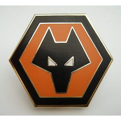Wwfc Metal Pin Badge. Brand New And Still In Wrapping Wolverhampton Wanderers
