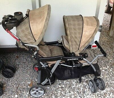 Baby Trend Sit N Stand Double Stroller CANOPY & SLING, or BASKET - No Stroller