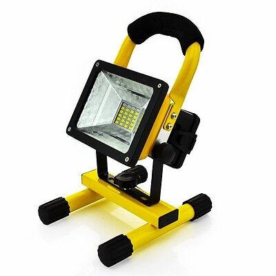 Portable 30W Outdoor LED Floodlight Spotlight Emergency WorkLight Camping Lamp