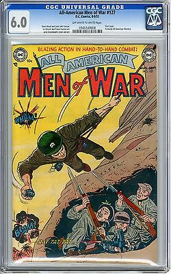 ALL AMERICAN MEN OF WAR #1 cgc 6.0 Off-White to White pages