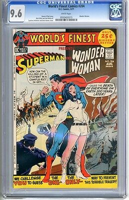 World's Finest   #204   CGC   9.6   NM+    white pages