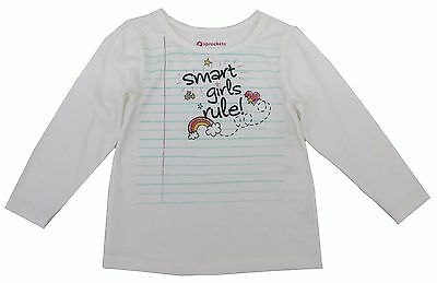 NWT Long Sleeve Baby Girl Top Tee Shirt Cotton Toddler Infant Girls 2t 3t 12 Tee