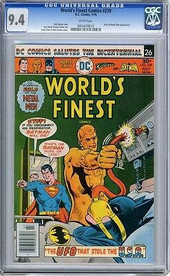 World's Finest   #239   CGC   9.4   NM    white pages